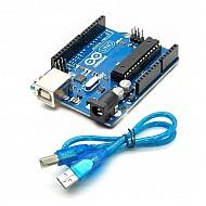 Arduino Uno R3 Compatible board + Cable for Arduino Uno