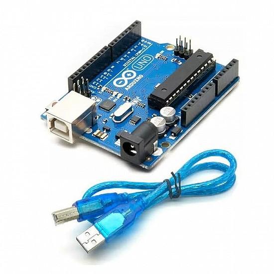 Arduino Uno R3 + Cable for Arduino Uno - Arduino Board - Arduino