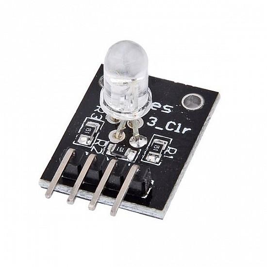 RGB 3 Color LED Module For Arduino Red Green Blue - Sensor - Arduino
