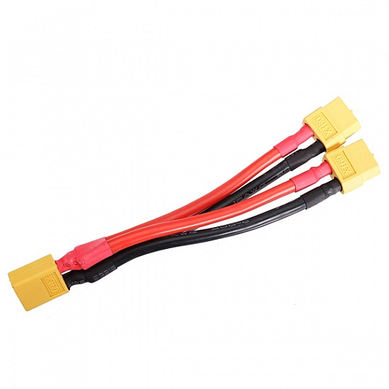 XT60 Connector 2 Female to 1 Males Parallel Connection Cable - Other - Multirotor