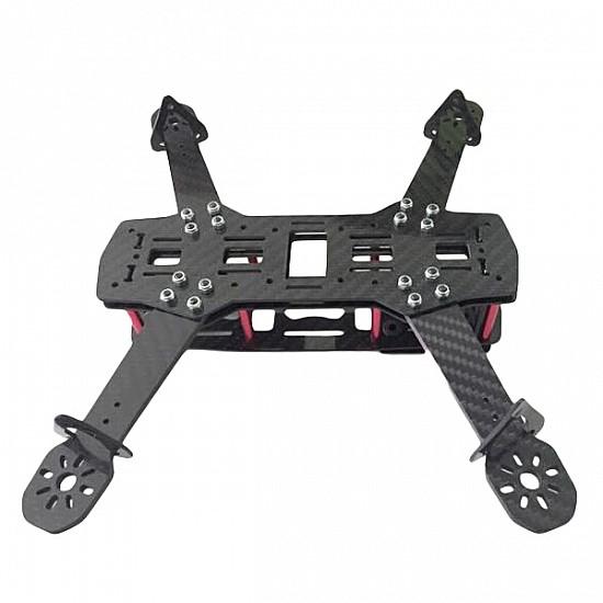 QVA250 V2 Carbon Fiber Frame Kit RC Drone FPV Racing 3.0mm Arm Thickness - Frame - Multirotor