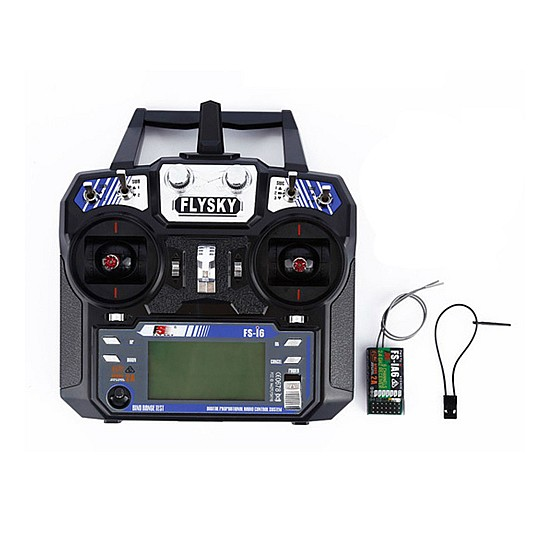FlySky FS-i6 2.4G 6CH AFHDS RC Transmitter With FS-iA6 Receiver - Rc Remote - Multirotor