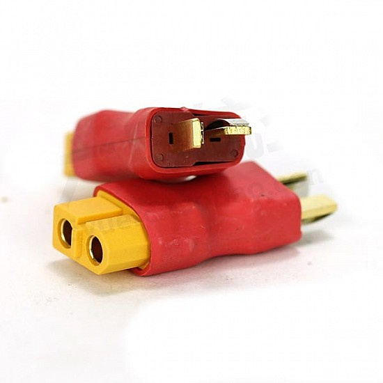 T Plug Male to XT60 Plug Female Connector - Other - Multirotor