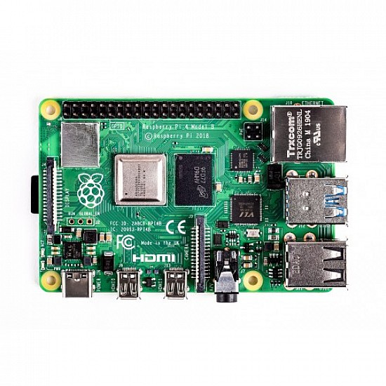 Raspberry Pi 4 Model-B with 2 GB RAM -  -