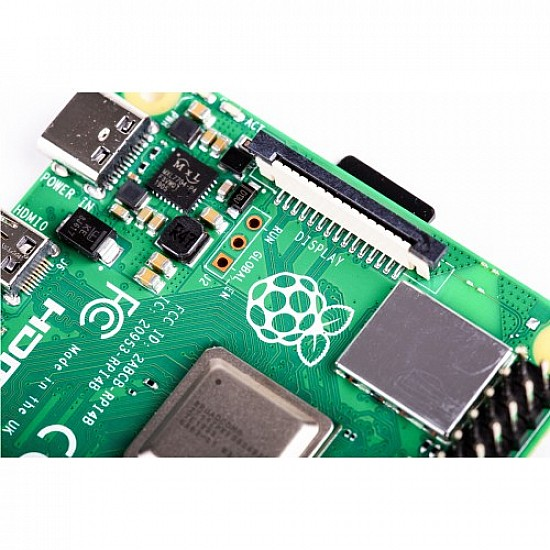 Raspberry Pi 4 Model-B with 4 GB RAM -  -