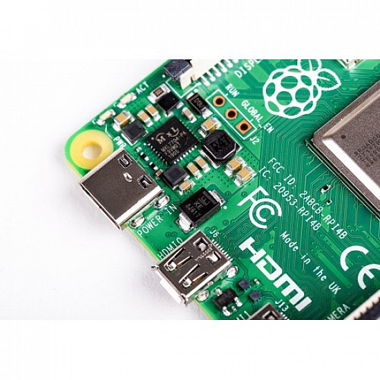 Raspberry Pi 4 Model-B with 1 GB RAM -  -