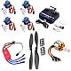 RC Aeroplane Kit ( Motor + ESC + Propeller  + Servo + TX-RX)