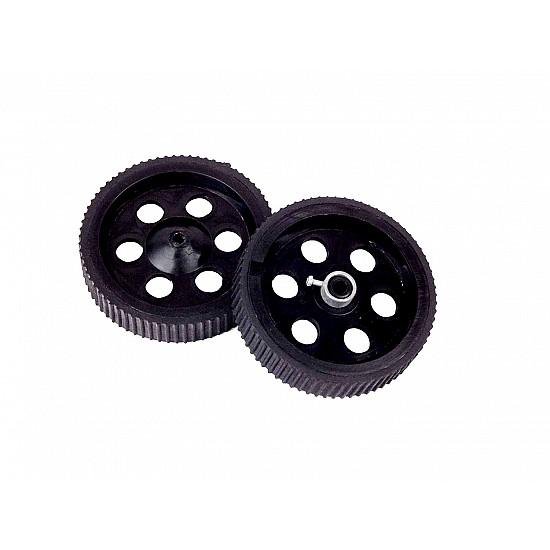 Robot Wheel 10 x 2 cm for Motors