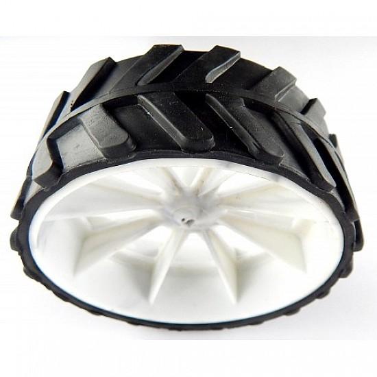 Robot Wheel 7 x 4 Cm For Motors - Robot Spare Parts -