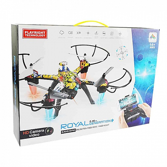 Royal Generation H235 Smart Camera Drone - Ready To Fly - Multirotor
