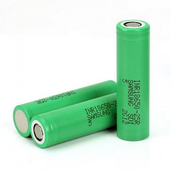 SAMSUNG INR18650-25R 2500mAh Li-Ion Battery (Original)