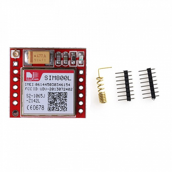 SIM800L GPRS GSM Module Micro SIM Card Quad-band TTL Serial Port