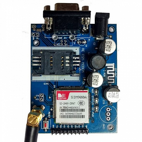SIM900A GSM GPRS Modem Module with RS232 Interface And SMA Antenna