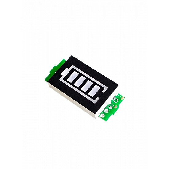 11.1-12.6V 3S Lithium Battery Capacity Indicator