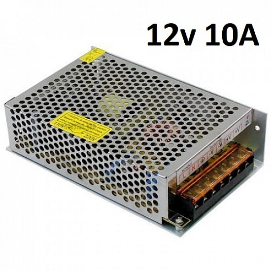 12V 10A SMPS Industrial Power Supply for industrial project and 3D Printer - Power Supply - 3D Printer - 3D Printer and Accessories