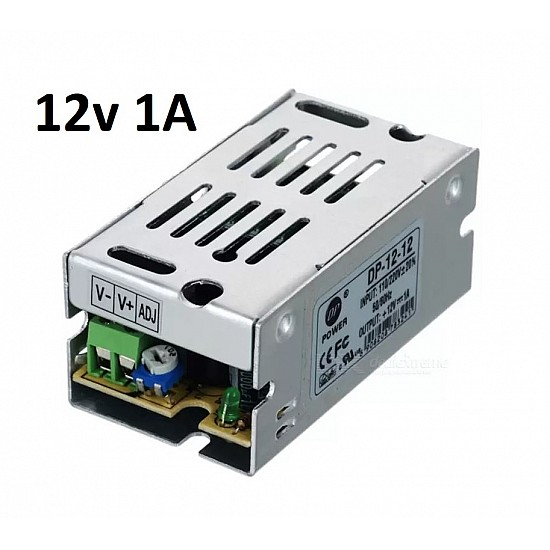 12V 1A SMPS Industrial Power Supply - Power Supply - 3D Printer - 3D Printer and Accessories