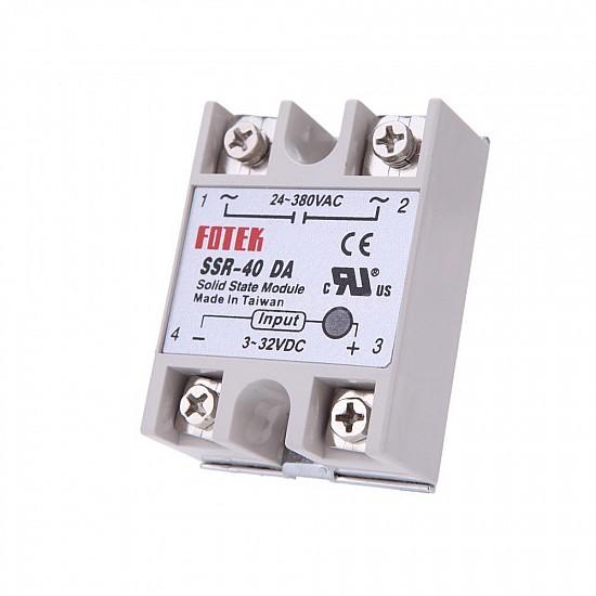 SSR-40DA Solid State Relay Module 3-32VDC/24-380VAC