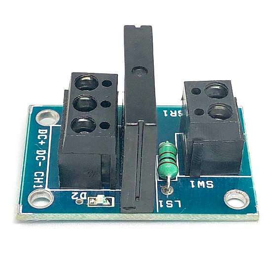 5V 1 Channel SSR Relay Module (Solid State Relay Module) with Fuse - Sensor - Arduino