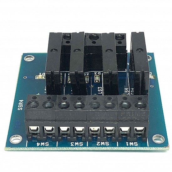 5V 4 Channel SSR Relay Module (Solid State Relay Module) with Fuse - Sensor - Arduino