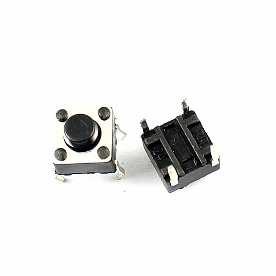 Tactile Push Button Switch with Round Cap