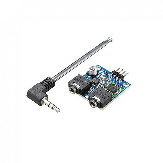 TEA5767 Stereo FM Radio Module with Detachable Antenna