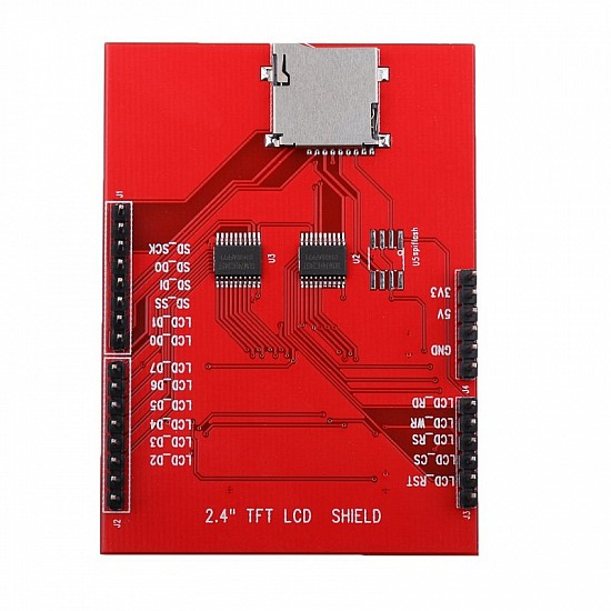 "TFT LCD 2.4"" Touch Screen Shield for Arduino"