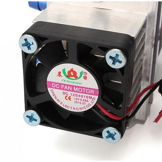 Thermoelectric Peltier Refrigeration Cooling System DIY Kit