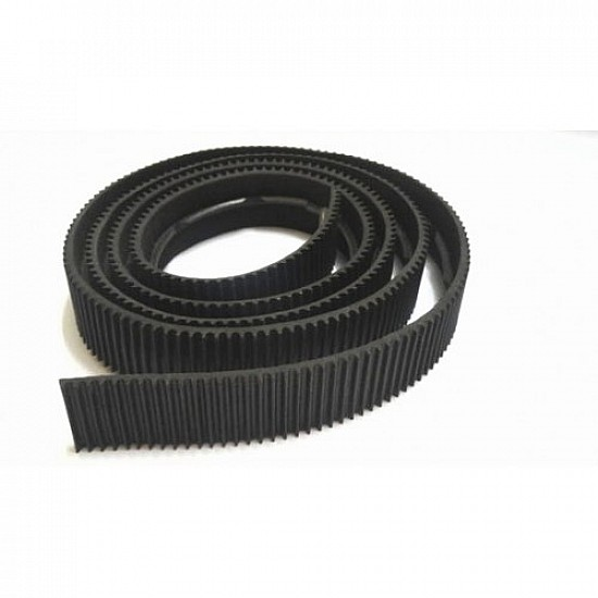 Track Belt 4 cm Width x 100cm Length for Pulley wheel - Robot Spare Parts -