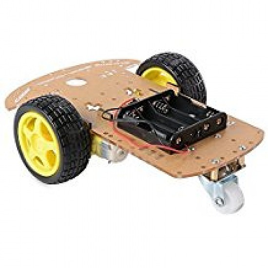 Transparent Robot Smart Car Chassis DIY Kit