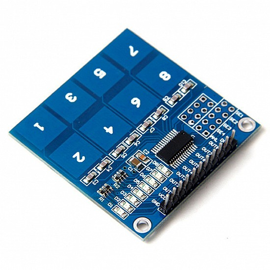 TTP226 8-Channel Capacitive Touch Sensor Module
