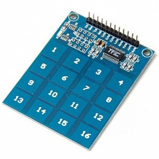 TTP229 16-Way Capacitive Touch Sensor Digital keypad Module