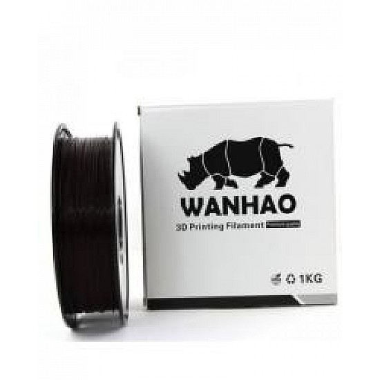 WANHAO Black ABS 1.75 mm 1 Kg Filament For 3D Printer – Premium Quality Filament