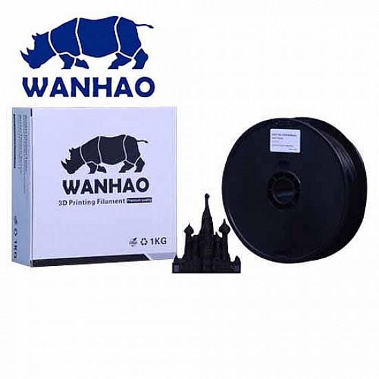 WANHAO Black PLA 1.75 mm 1 Kg Filament For 3D Printer – Premium Quality Filament - Filament - 3D Printer and Accessories