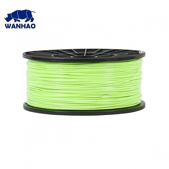 WANHAO Kelly Green ABS 1.75 mm 1 Kg Filament For 3D Printer – Premium Quality Filament