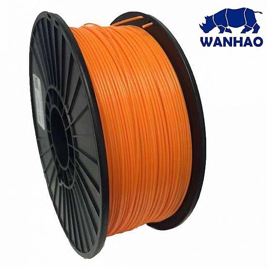 WANHAO Orange ABS 1.75 mm 1 Kg Filament For 3D Printer – Premium Quality Filament