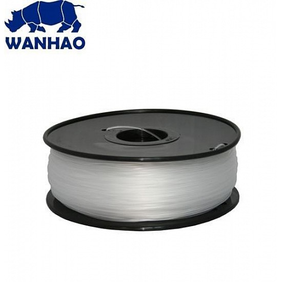 WANHAO Transparent PLA 1.75 mm 1 Kg Filament For 3D Printer – Premium Quality Filament - Filament - 3D Printer and Accessories