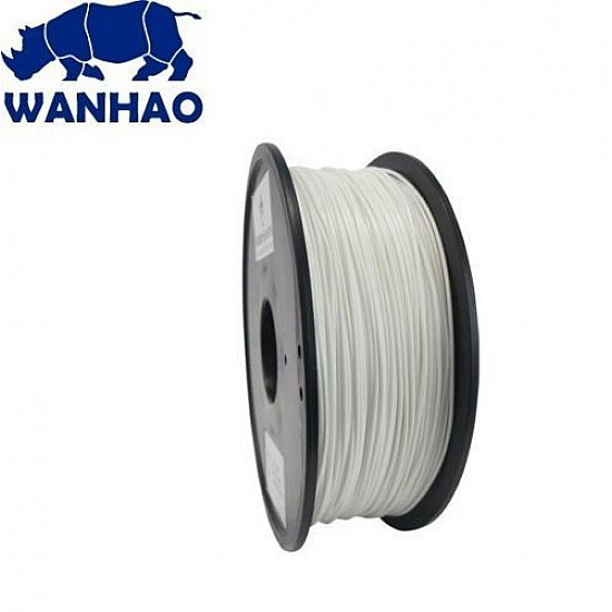 WANHAO White PLA 1.75 mm 1 Kg Filament For 3D Printer – Premium Quality Filament - Filament - 3D Printer and Accessories