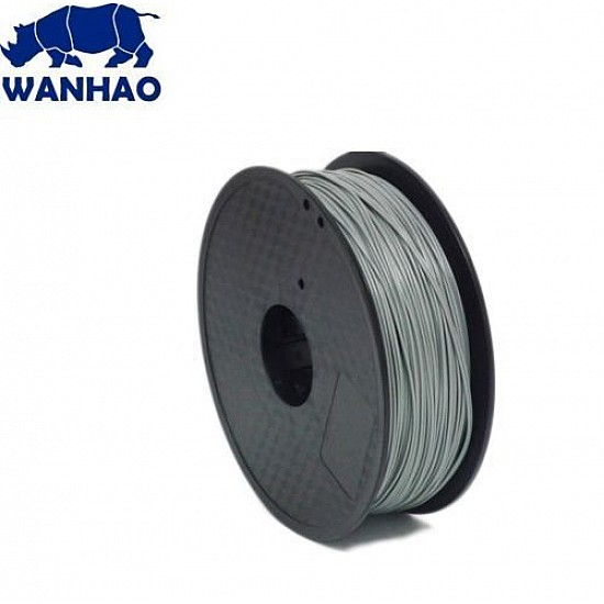 WANHAO Gray ABS 1.75 mm 1 Kg Filament For 3D Printer – Premium Quality Filament