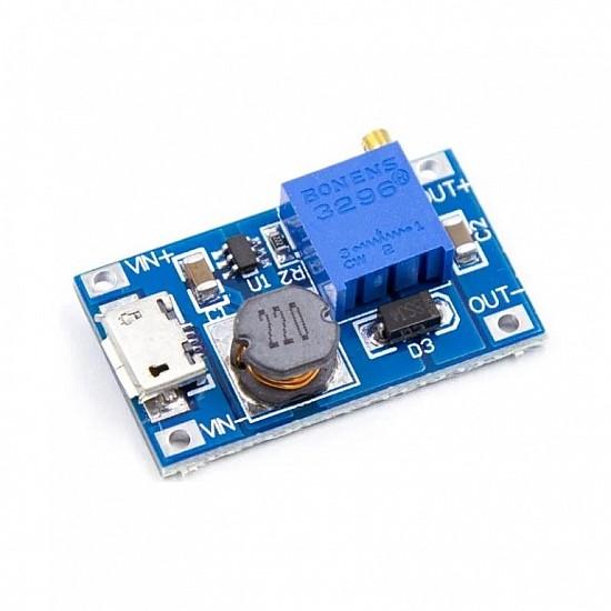 XY-016 DC-DC Step Up 2A 5V/9V/12V/28V Power Module with Micro USB