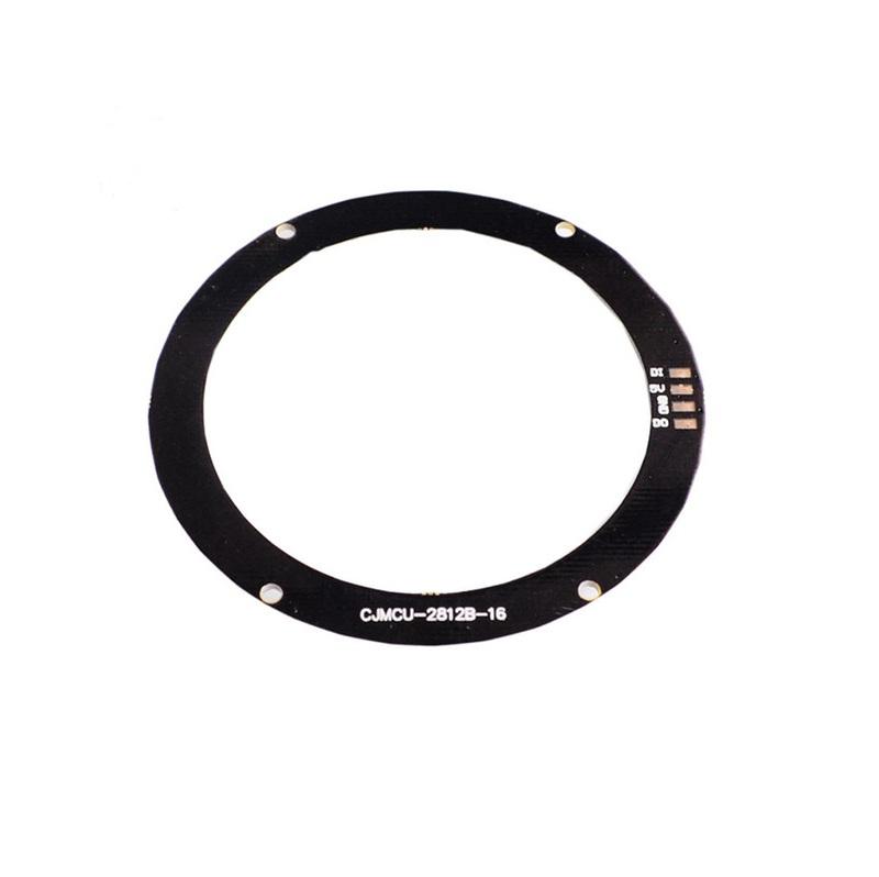 16Bit WS2812B 5050 RGB LED Built-in Full Color Driving Lights Circular Development Board