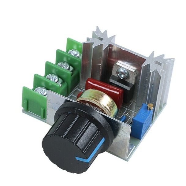2000W 220V SCR Voltage Regulator Dimmers Speed Controller Thermostat