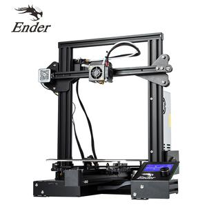 Creality Ender 3 3d printer -  220x220x250mm Printing Size - Power Resume Function - MK10 Extruder - 1.75mm - 0.4mm Nozzle - 3D Printers - 3D Printer and Accessories