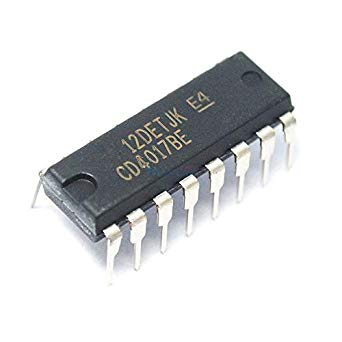 4017 Decade Counter IC - ICs - Integrated Circuits & Chips - Core Electronics