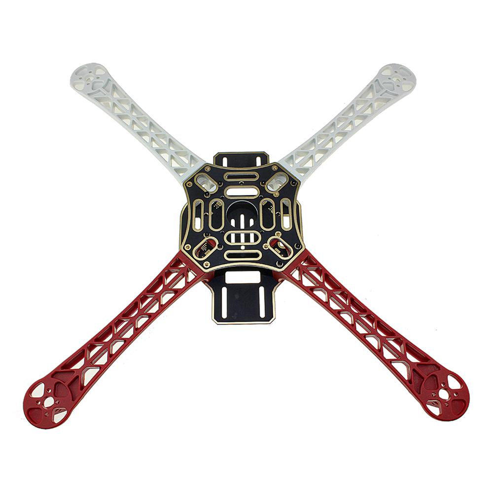 Quadcopter Drone Combo with NAZA M-Lite Kit (Motor + ESC + Propeller + Flight Controller + Frame + TX-RX + Power module + Belt) - Multirotor -