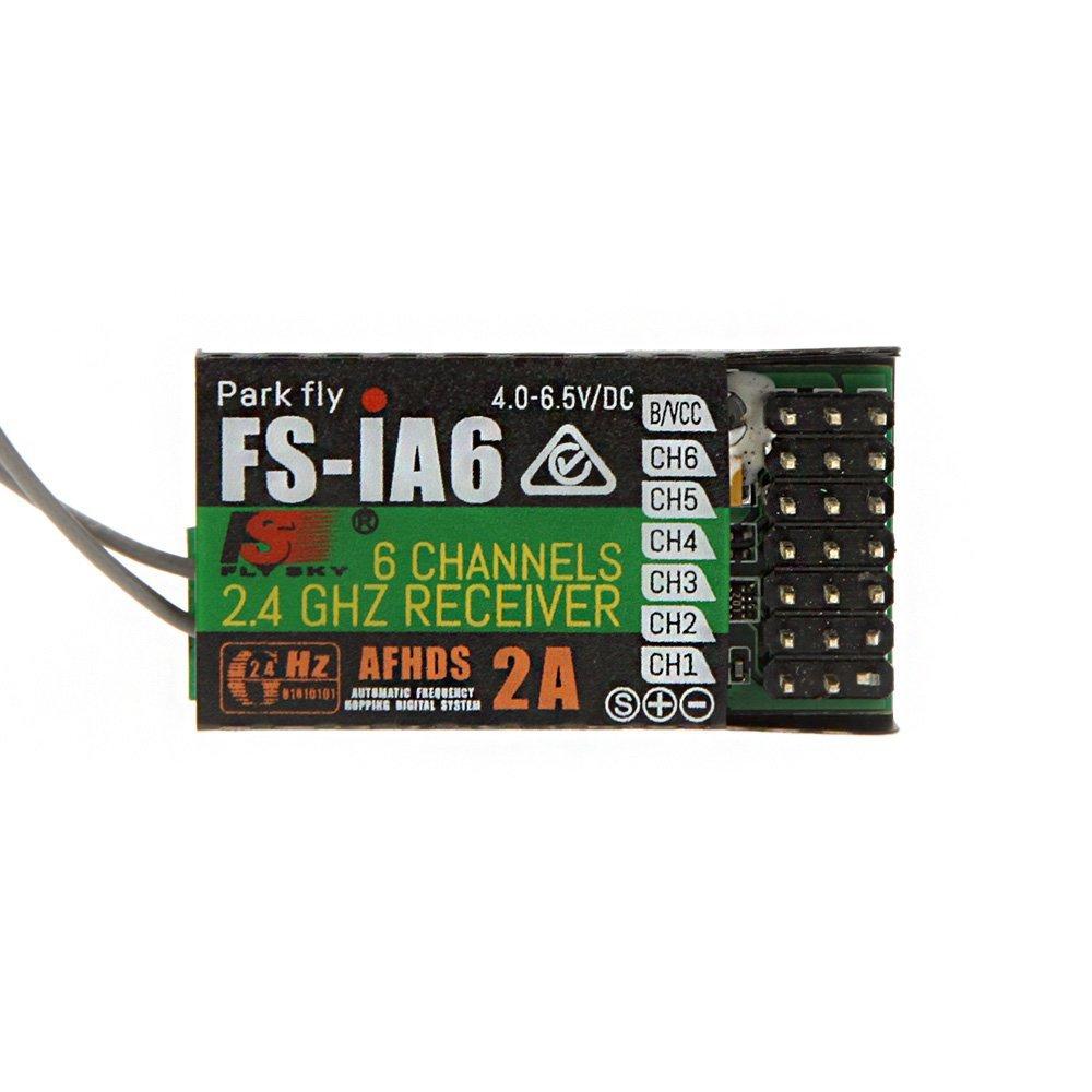 Flysky FS-IA6 6CH AFHDS 2A 2.4G Radio Receiver - Rc Remote - Multirotor