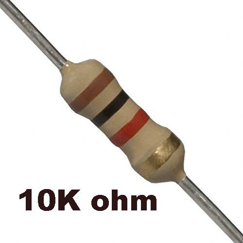 10K ohm Resistor - Resistors - Core Electronics