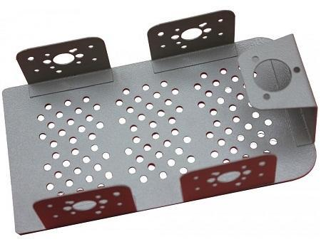 Advance Metal Chassis For Robots White - Robot Spare Parts -