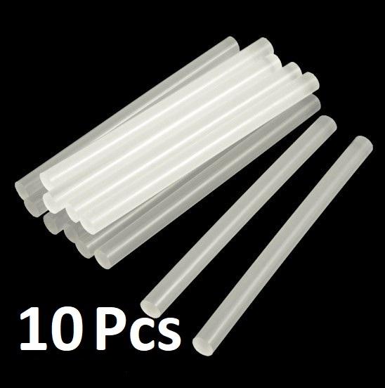 Multi-purpose Hot Melt Glue Sticks for Glue Gun - 10 Pcs