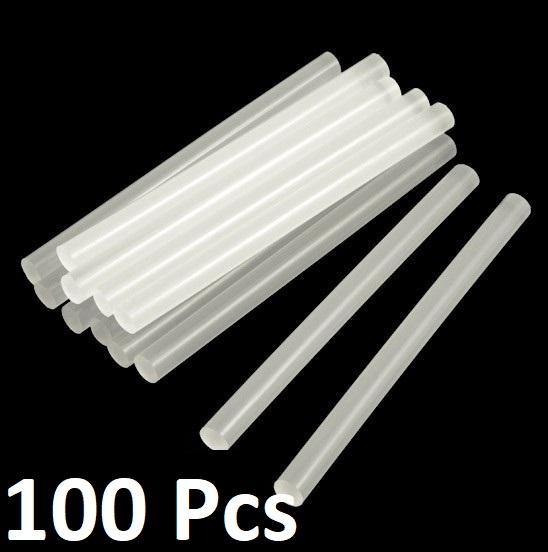 Multi-purpose Hot Melt Glue Sticks for Glue Gun - 100 Pcs