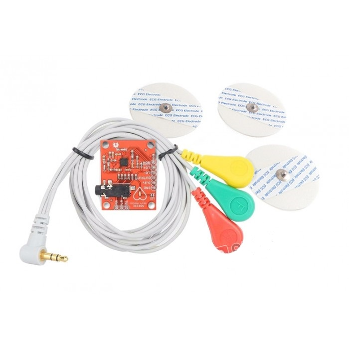Heart Rate Monitor Kit with AD8232 ECG sensor module
